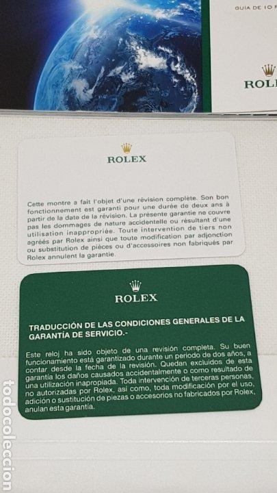 Relojes - Rolex: FUNDA Y DOCUMENTACION RELOJ ROLEX MODELO 16610T - Foto 5 - 246445390