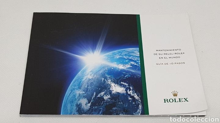 Relojes - Rolex: FUNDA Y DOCUMENTACION RELOJ ROLEX MODELO 16610T - Foto 6 - 246445390