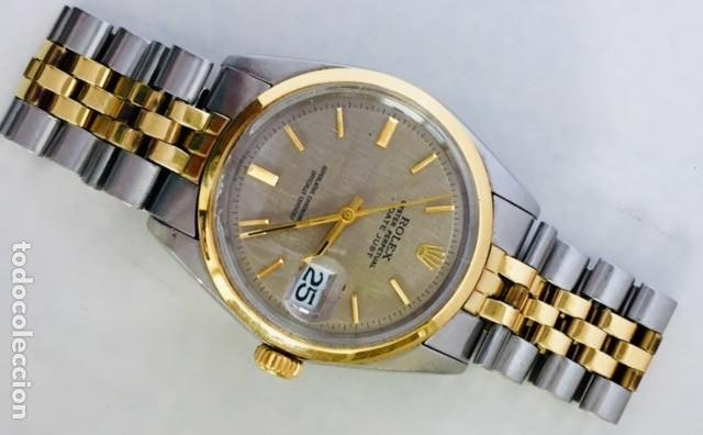 Relojes - Rolex: ROLEX OYSTER DATE JUST-REF.1570-ACERO Y ORO 18K ¡¡COMO NUEVO!! - Foto 4 - 95092571