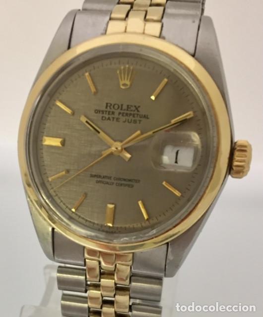 Relojes - Rolex: ROLEX OYSTER DATE JUST-REF.1570-ACERO Y ORO 18K ¡¡COMO NUEVO!! - Foto 3 - 95092571