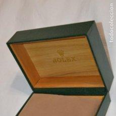 Relojes - Rolex: PRECIOSA CAJA PARA RELOJ - EN COLOR VERDE OSCURO - PRECIOSA - ¡MIRA FOTOS Y DETALLES!. Lote 262056930