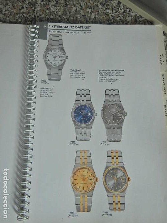 IMPRESIONANTE CATÁLOGO ORIGINAL ROLEX (Relojes - Relojes Actuales - Rolex)