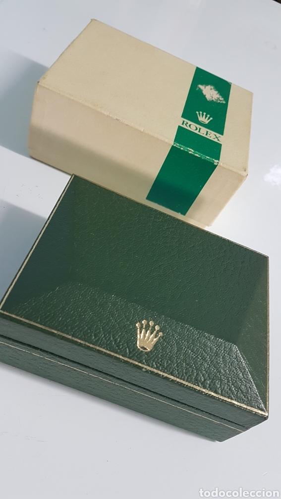 ESTUCHE ROLEX 11.00.2 CON SU CAJA DE CARTON AÑOS 60 SUBMARINER (Relojes - Relojes Actuales - Rolex)