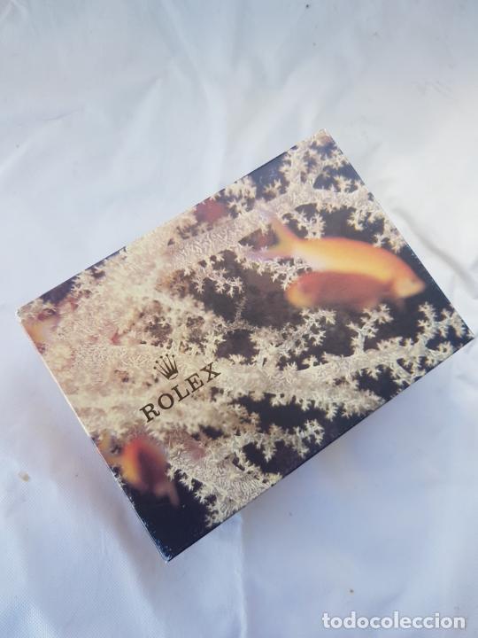 ROLEX CAJA CARTON GRANDE RARA PRESIDENT ORO (Relojes - Relojes Actuales - Rolex)