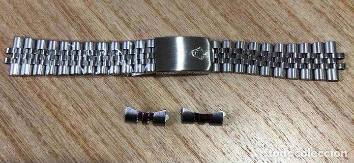 CORREA TIPO ROLEX JUBELEE NUEVA A ESTRENAR (Relojes - Relojes Actuales - Rolex)