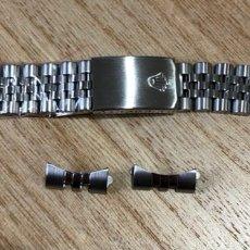 Montres - Rolex: CORREA TIPO ROLEX JUBELEE NUEVA A ESTRENAR. Lote 264823739