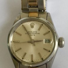 Relojes - Rolex: ROLEX ORO18KT.-ACERO OYSTER PERPETUAL DATE-COMO NUEVO-MUJER- REF-6516. Lote 266145323