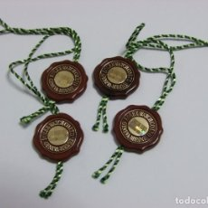 Relógios - Rolex: LOT 4 VINTAGE ROLEX RED HANG TAGS WITH HOLOGRAM. Lote 266474868