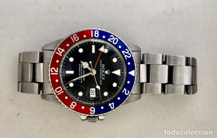 Relojes - Rolex: ROLEX GMT MASTER (PEPSI) ¡¡ REFERENCIA-16750 !! COMO NUEVO!! - Foto 3 - 229104405
