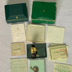 Relojes - Rolex: ROLEX OYSTER PERPETUAL DATE REF. 1500 / 1503 . YELOW GOLD 18K. AUTOMATIC WRISTWATCH , 1965 ,. Lote 268420269