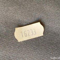 Relojes - Rolex: ETIQUETA ORIGINAL DE ROLEX MODELO 16233. Lote 269047003