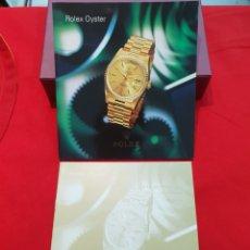Relógios - Rolex: CATALOGO ROLEX OYSTER Y LISTA DE PRECIOS AÑO 1996. Lote 270527203