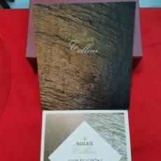 Relojes - Rolex: CATALOGO RELOJ Y LISTA DE PRECIOS - ROLEX. CELLINI AÑO 1995. Lote 270527883