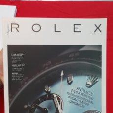 Orologi - Rolex: THE ROLEX MAGAZINE. EDICION 01. A-RELOJ-0091. Lote 270529698