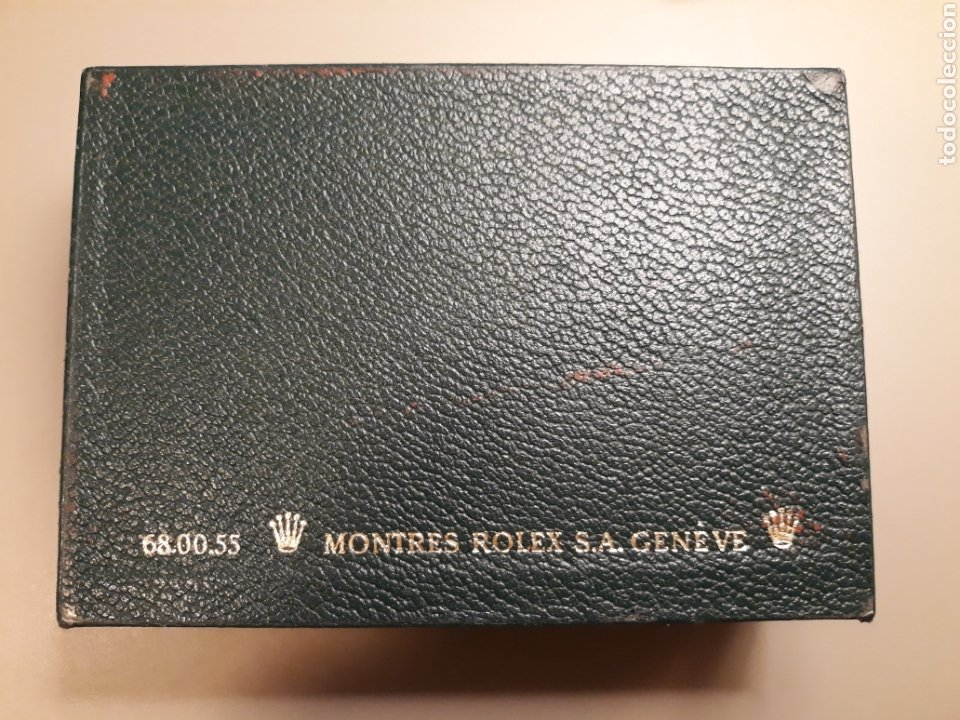 Relojes - Rolex: Caja Rolex en piel y madera. - Foto 2 - 272985148