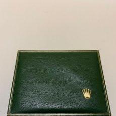 Relógios - Rolex: CAJA VERDE DE RELOJ DE MA MARCA ROLEX AÑOS 60. Lote 275856573