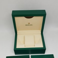 Relojes - Rolex: ESTUCHE ORIGINAL RELOJ ROLEX MODELO 114300 DOCUMENTACION TARJETA DE GARANTIA OYSTER PPERPETUAL DATE. Lote 276125918