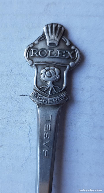 CUCHARILLA ROLEX BUCHERER CIUDAD BASEL (Relojes - Relojes Actuales - Rolex)