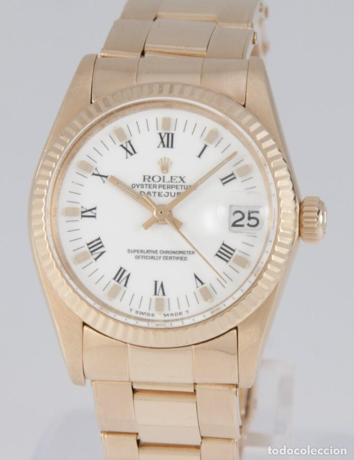 ROLEX DATEJUST YELLOW GOLD 18K REF: 6827 (Relojes - Relojes Actuales - Rolex)