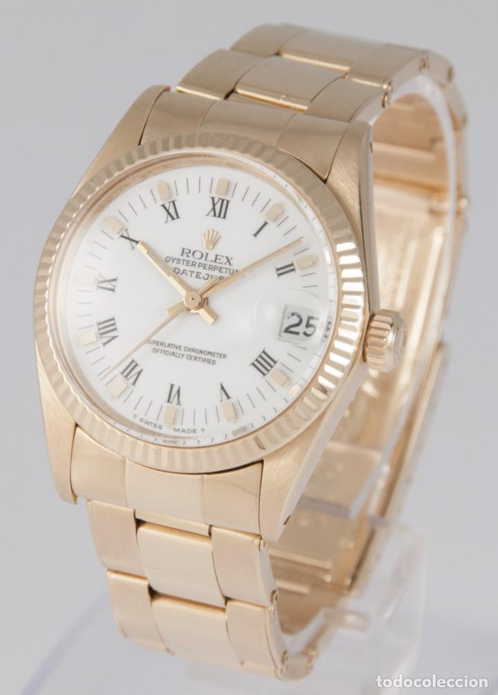 Relojes - Rolex: Rolex Datejust Yellow Gold 18k Ref: 6827 - Foto 2 - 277501663