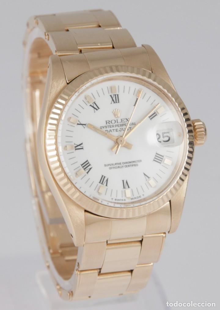 Relojes - Rolex: Rolex Datejust Yellow Gold 18k Ref: 6827 - Foto 5 - 277501663