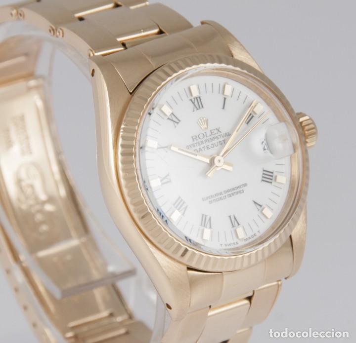 Relojes - Rolex: Rolex Datejust Yellow Gold 18k Ref: 6827 - Foto 6 - 277501663