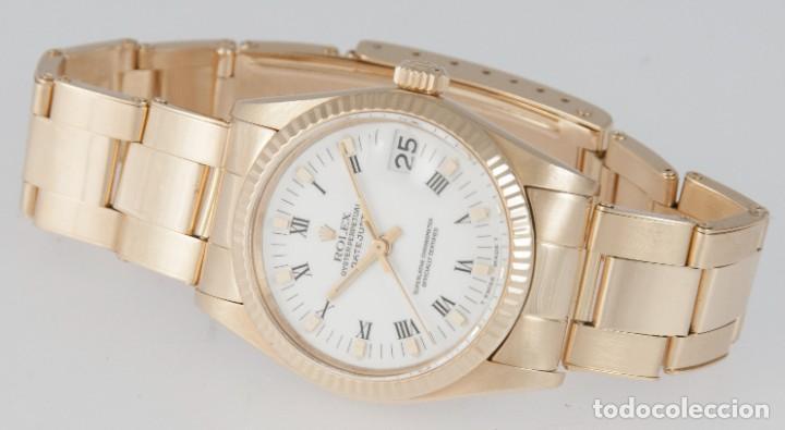 Relojes - Rolex: Rolex Datejust Yellow Gold 18k Ref: 6827 - Foto 8 - 277501663