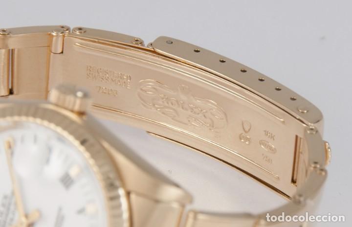 Relojes - Rolex: Rolex Datejust Yellow Gold 18k Ref: 6827 - Foto 9 - 277501663