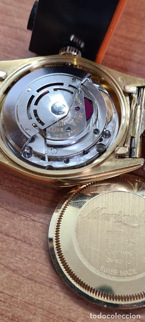 Relojes - Rolex: Reloj caballero ROLEX. DAY- DATE de oro 18K (0750) con correa de oro, esfera champan con brillantes. - Foto 6 - 279379298