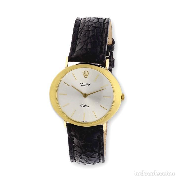 Relojes - Rolex: Rolex Cellini Reloj de Oro de Señora de Ley 18k con Pulsera de Cuero - Foto 2 - 284755693