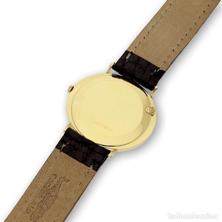 Relojes - Rolex: Rolex Cellini Reloj de Oro de Señora de Ley 18k con Pulsera de Cuero - Foto 9 - 284755693