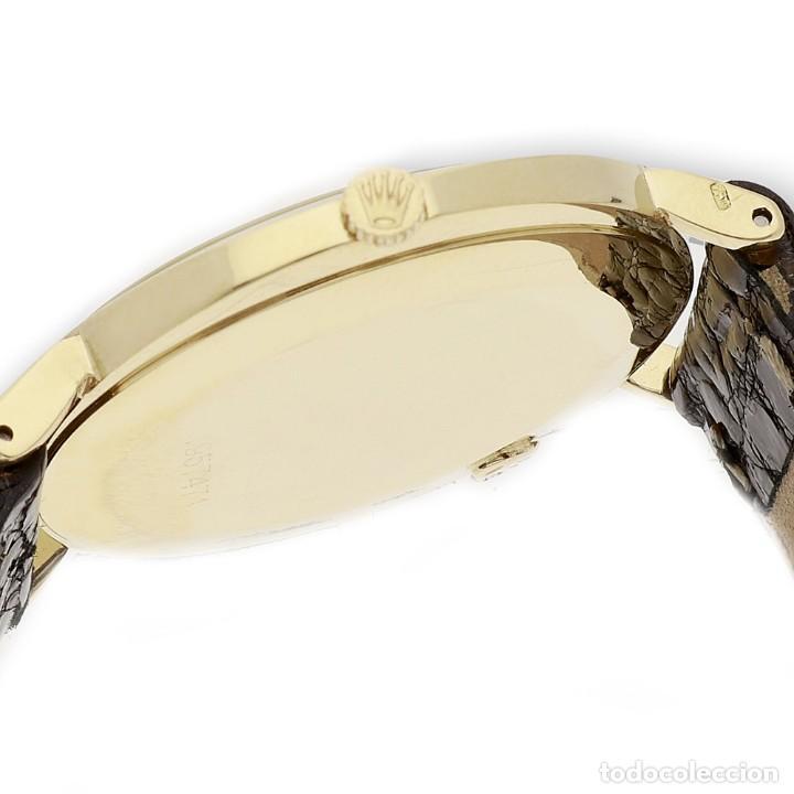 Relojes - Rolex: Rolex Cellini Reloj de Oro de Señora de Ley 18k con Pulsera de Cuero - Foto 11 - 284755693