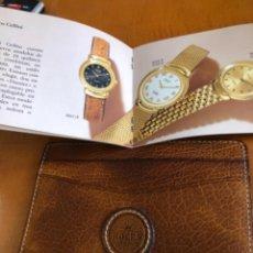 Relojes - Rolex: ANTIGUA FUNDA DE ROLEX GENEVE CON INSTRUCCIONES. Lote 285405003