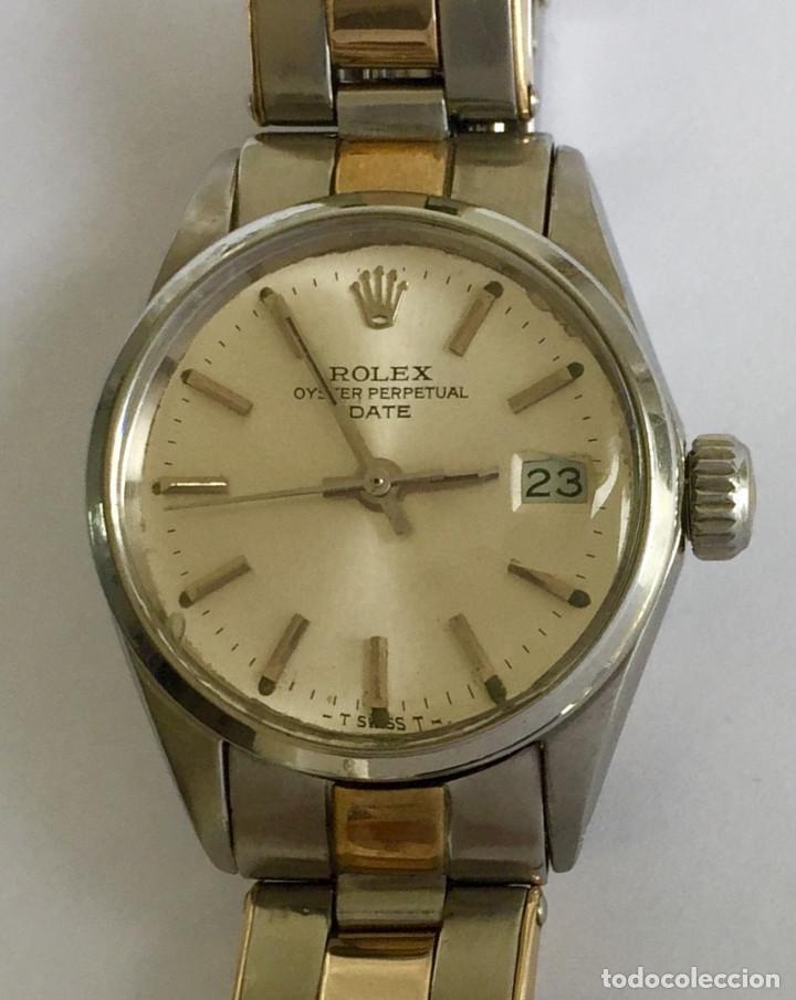 ROLEX ACERO Y ORO 18KTS.CENTRO Y LOS CANTOS DE PULSERA.MUJER. (Relojes - Relojes Actuales - Rolex)