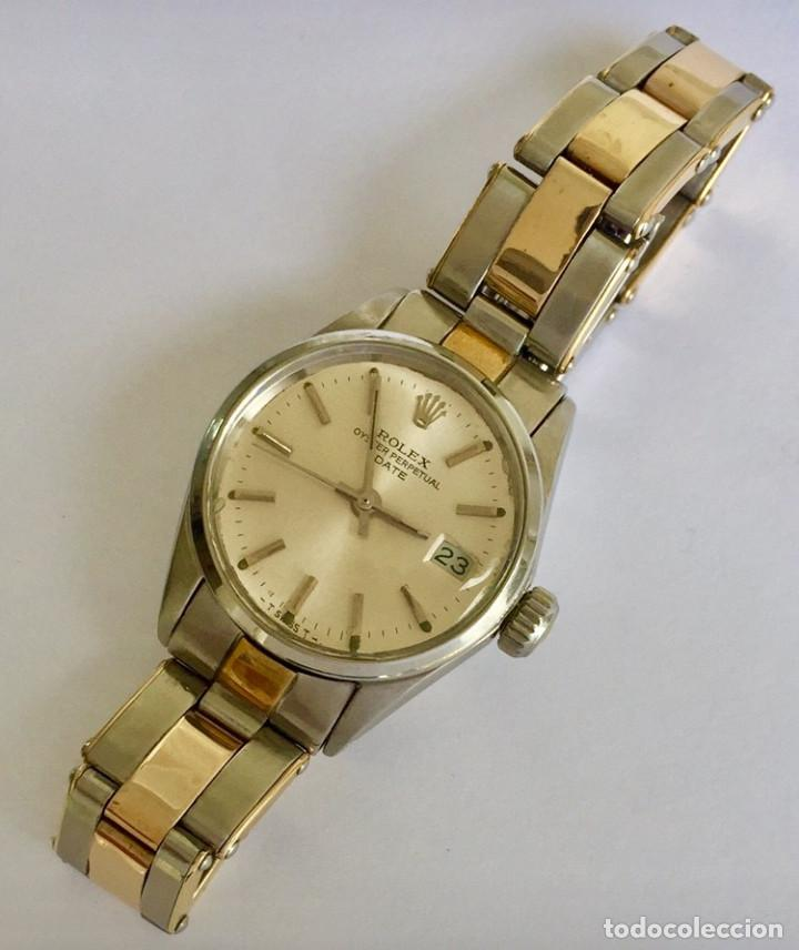 Relojes - Rolex: ROLEX ACERO Y ORO 18KTS.CENTRO Y LOS CANTOS de PULSERA.MUJER. - Foto 2 - 286754718