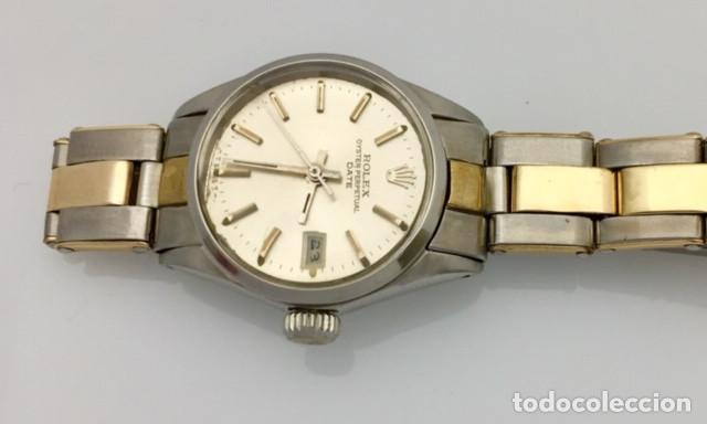 Relojes - Rolex: ROLEX ACERO Y ORO 18KTS.CENTRO Y LOS CANTOS de PULSERA.MUJER. - Foto 3 - 286754718