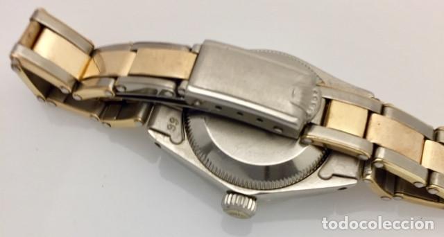 Relojes - Rolex: ROLEX ACERO Y ORO 18KTS.CENTRO Y LOS CANTOS de PULSERA.MUJER. - Foto 4 - 286754718