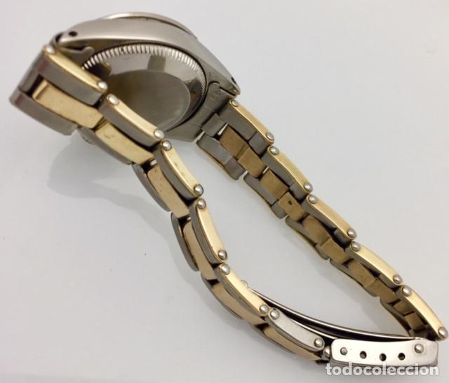 Relojes - Rolex: ROLEX ACERO Y ORO 18KTS.CENTRO Y LOS CANTOS de PULSERA.MUJER. - Foto 5 - 286754718