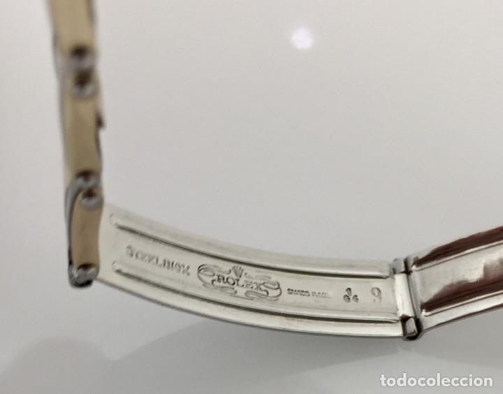 Relojes - Rolex: ROLEX ACERO Y ORO 18KTS.CENTRO Y LOS CANTOS de PULSERA.MUJER. - Foto 7 - 286754718