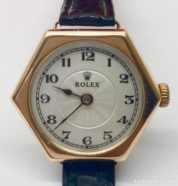 ROLEX ORO MUJER COMO NUEVO. (Relojes - Relojes Actuales - Rolex)