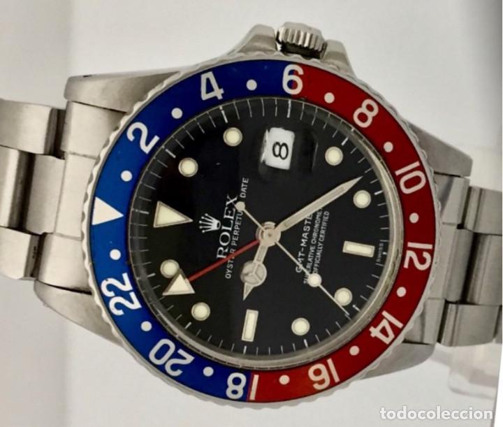 Relojes - Rolex: ROLEX GMT MASTER REF.16750 COMO NUEVO. - Foto 2 - 287029363