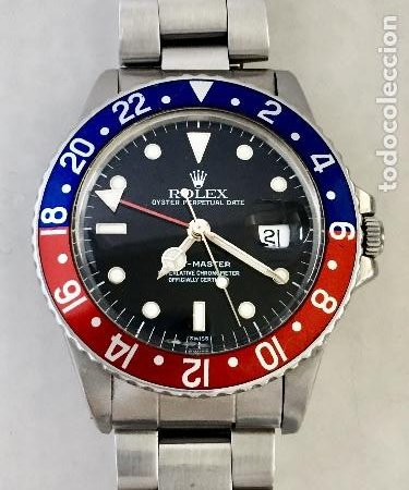 ROLEX GMT MASTER REF.16750 COMO NUEVO. (Relojes - Relojes Actuales - Rolex)