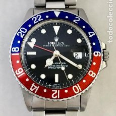 Relojes - Rolex: ROLEX GMT MASTER REF.16750 COMO NUEVO.. Lote 287029363