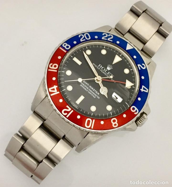 Relojes - Rolex: ROLEX GMT MASTER REF.16750 COMO NUEVO. - Foto 3 - 287029363