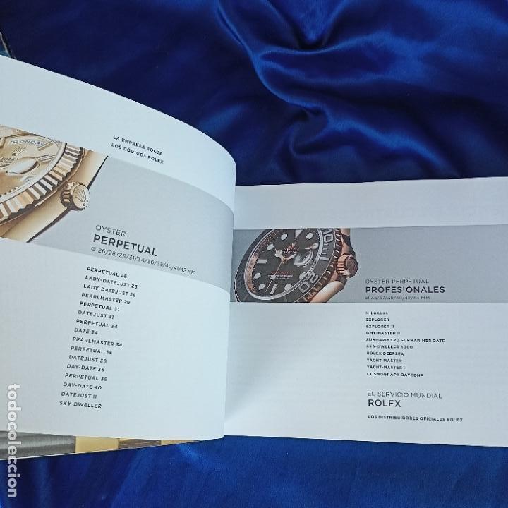 Relojes - Rolex: original catalogo de tienda rolex coleccion oyster perpetual 153 hojas - Foto 3 - 288662853