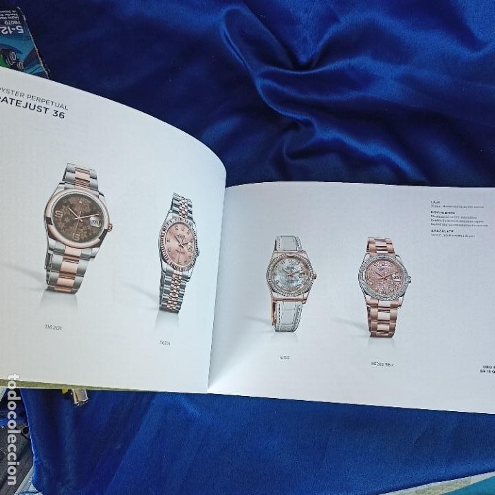 Relojes - Rolex: original catalogo de tienda rolex coleccion oyster perpetual 153 hojas - Foto 4 - 288662853
