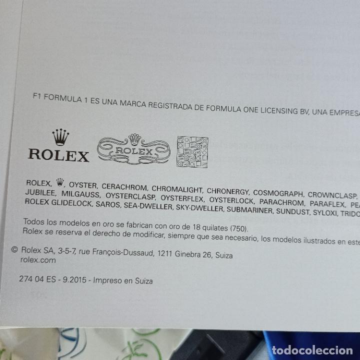Relojes - Rolex: original catalogo de tienda rolex coleccion oyster perpetual 153 hojas - Foto 5 - 288662853