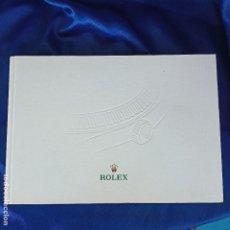 Relojes - Rolex: ORIGINAL CATALOGO DE TIENDA ROLEX COLECCION OYSTER PERPETUAL 153 HOJAS. Lote 288662853