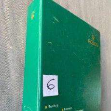 Relojes - Rolex: ROLEX BRACELETS R8 , ORIGINAL AL 100 % , BRAZALETES , CATALOGO LIBRO. Lote 293568673