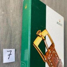 Relojes - Rolex: ROLEX R9 , CORREAS DE CUERO , HEBILLAS Y CIERRES , ORIGINAL , 2009. Lote 293620518